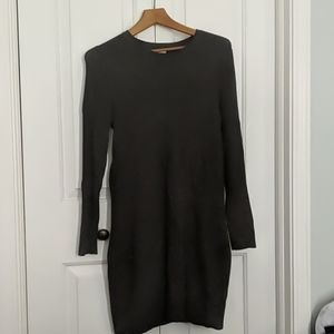 A.New.Day Charcoal Sweater Dress